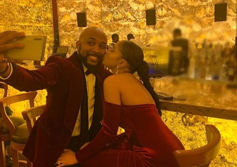 Adesua Etomi with Husband Banky W