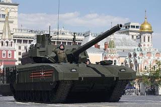 Supertank Armata Tank Terbaru Rusia Membuat Militer Inggris Khawatir - Commando