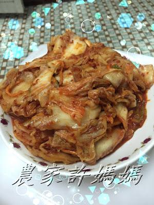 用韓國辣椒粉就是好吃的農家許媽媽韓式泡菜