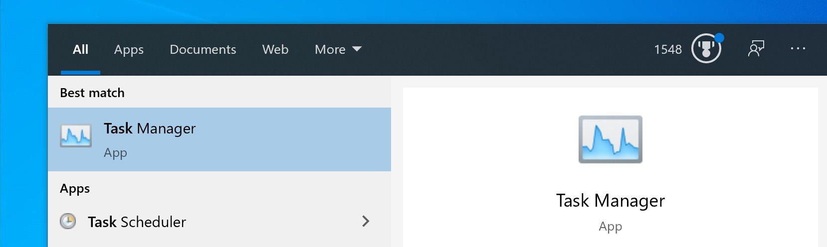 Il Task Manager di Windows 10 riceve la sua nuova icona