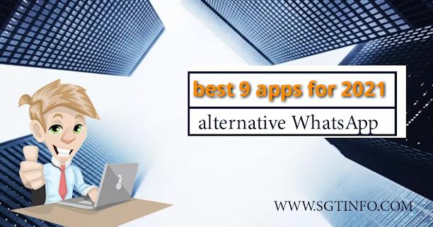 best 9 alternative WhatsApp apps for 2021