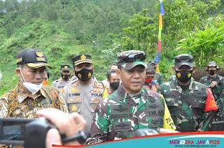 Mabes TNI AD Beri Perhatian Khusus TMMD Reguler ke-110 Di Jatipurno
