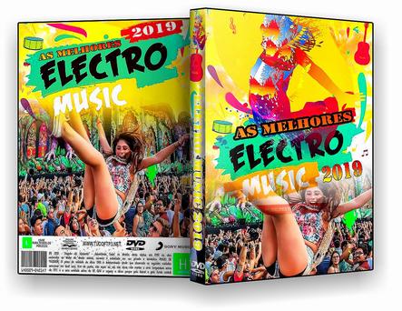 DVD AS MELHORES ELECTRO – MUSIC – 2019 - ISO