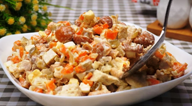 машеровский салат рецепт