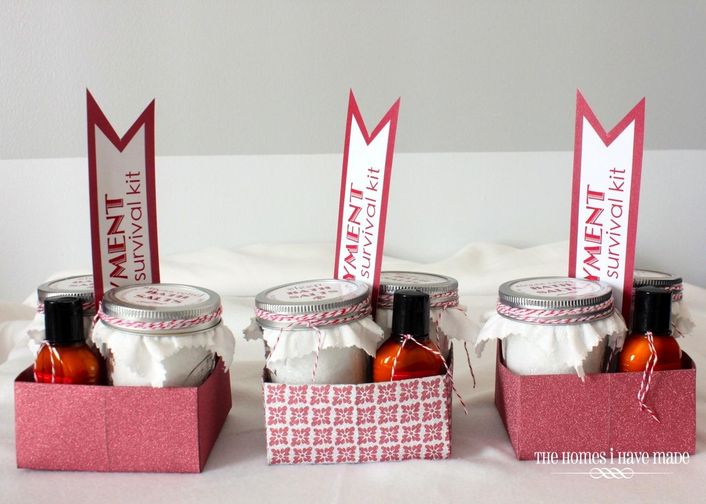 New job survival kit going away gift gift ideas pinterest new