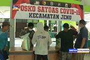 2.912 KPM Bansos Sembako Di Jenu Tuban Terima Beras Premium