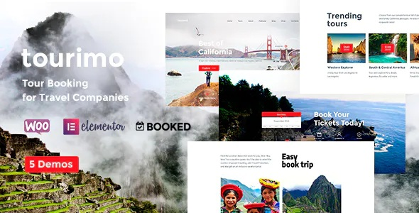Best Tour Booking WordPress Theme