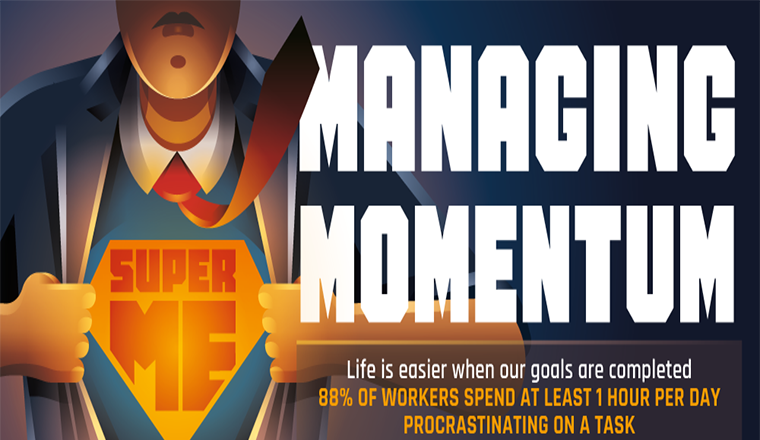 The Importance Of Managing Momentum #infographic