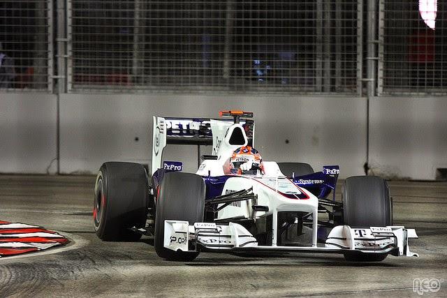 Robert Kubica Grand Prix Singapuru
