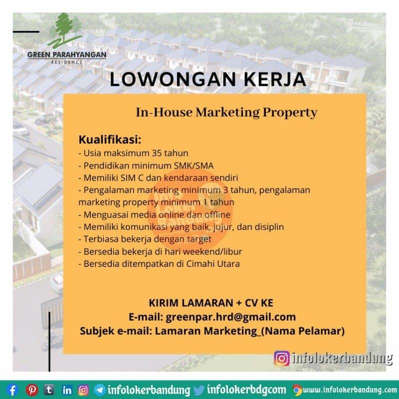 Lowongan Kerja Green Parahyangan Bandung April 2021