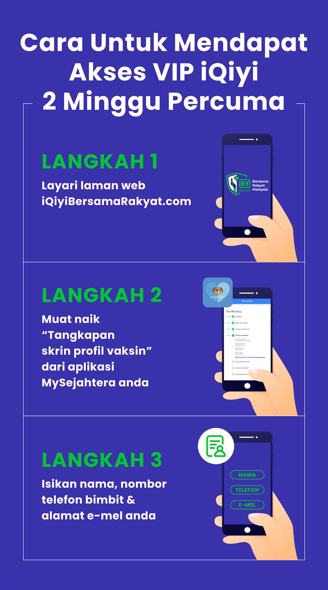 Kerjasama iQiyi dan CITF sempena kempen iQiyi Bersama Rakyat Malaysia.
