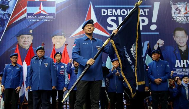 Sampaikan Pidato Politik, AHY Banggakan Masa Keemasan Presiden SBY