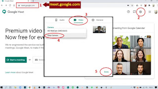 Cara Ganti Background Google Meet