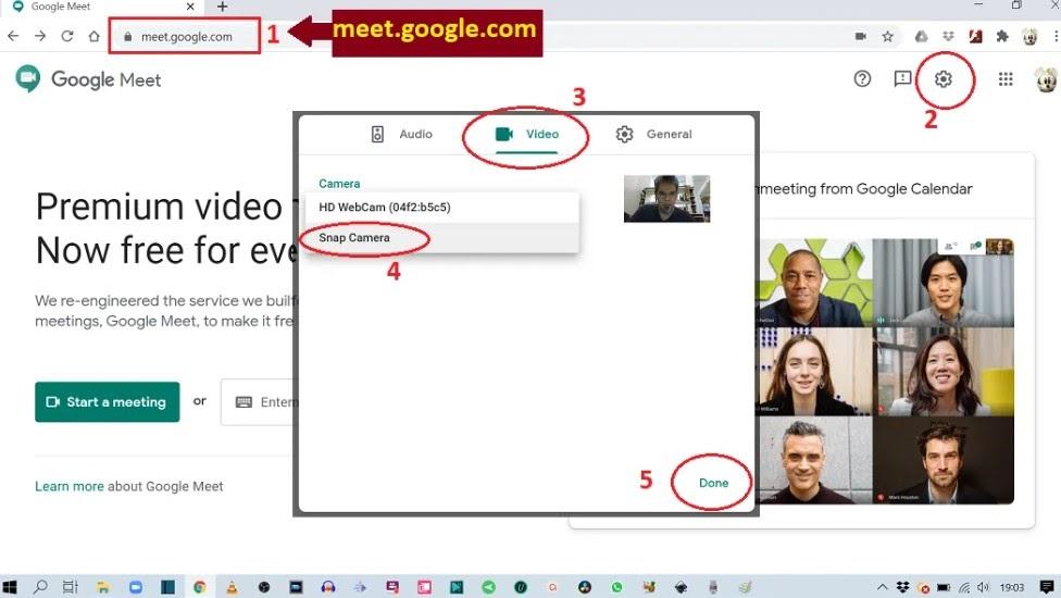 Cara Ganti Background Google Meet Dengan Mudah Area Tekno