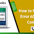 How to Fix QuickBooks Error 6000 Opening a Company File
