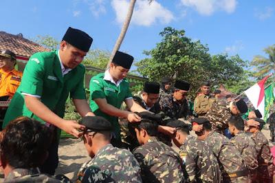 Hadiri Pelantikan Pengurus Cabang GP Ansor, Gus Ipin: Mari Kita Jaga NKRI