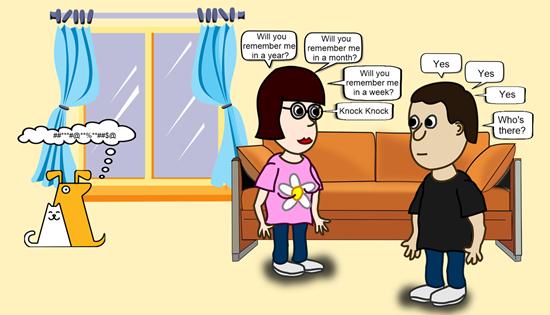 Cartoon created using DrawPad's New Feature - Speech Bubbles