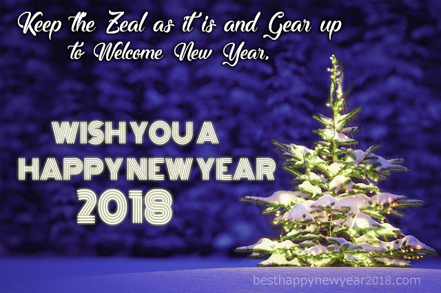 Wish You a Happy New Year 2018
