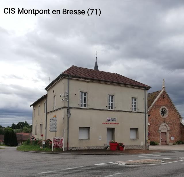 Caserne Pompiers Montpont en Bresse
