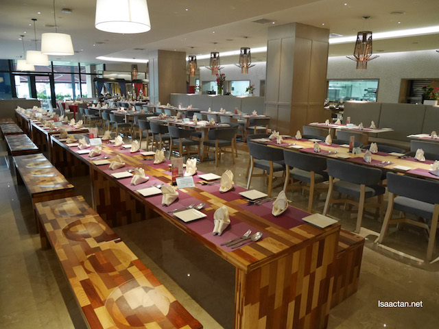 Tables all set for you to buka puasa for the evening
