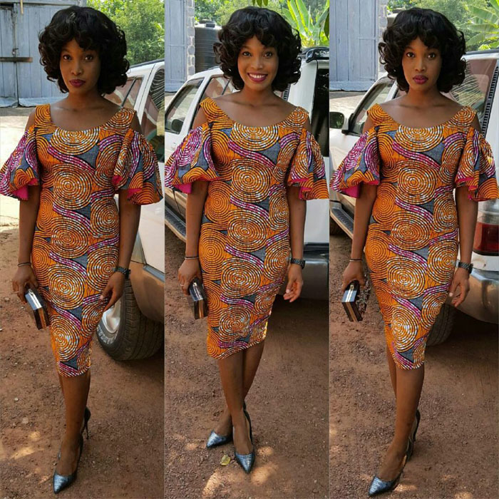 Some Ankara Short Gown Styles Heavy Square