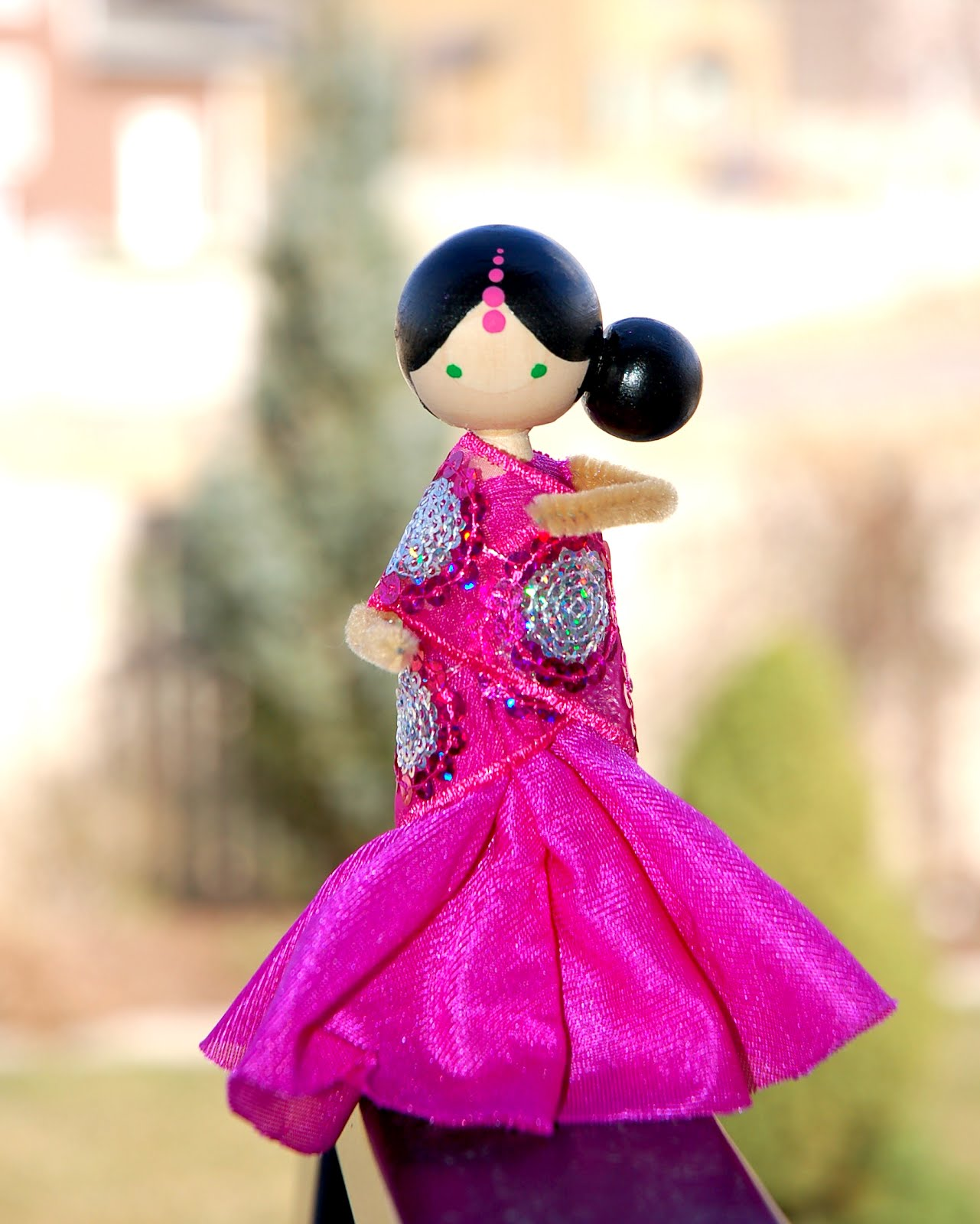 30 Beautiful Clothespin Dolls The Funky Stitch