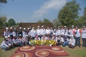 Bupati Masnah Sambut Peserta KKN Kebangsaan dan KKN Bersama BKS PTN-Barat di Candi Muaro Jambi