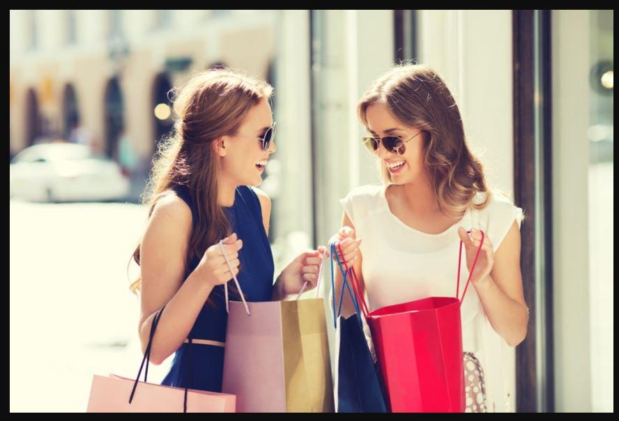 tài chính ổn định giúp mua hàng thỏa thích