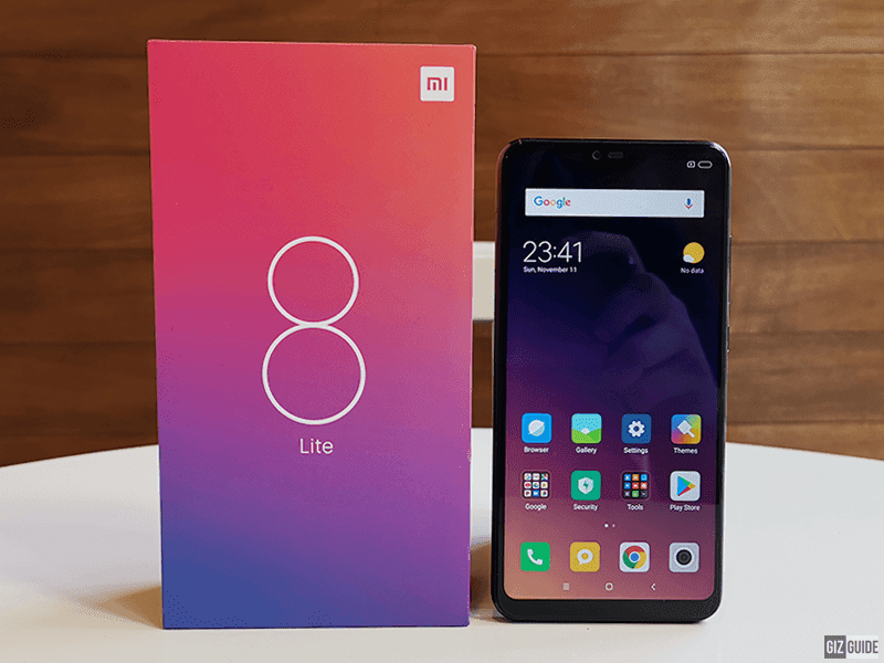 Christmas Giveaway: Xiaomi Mi 8 Lite