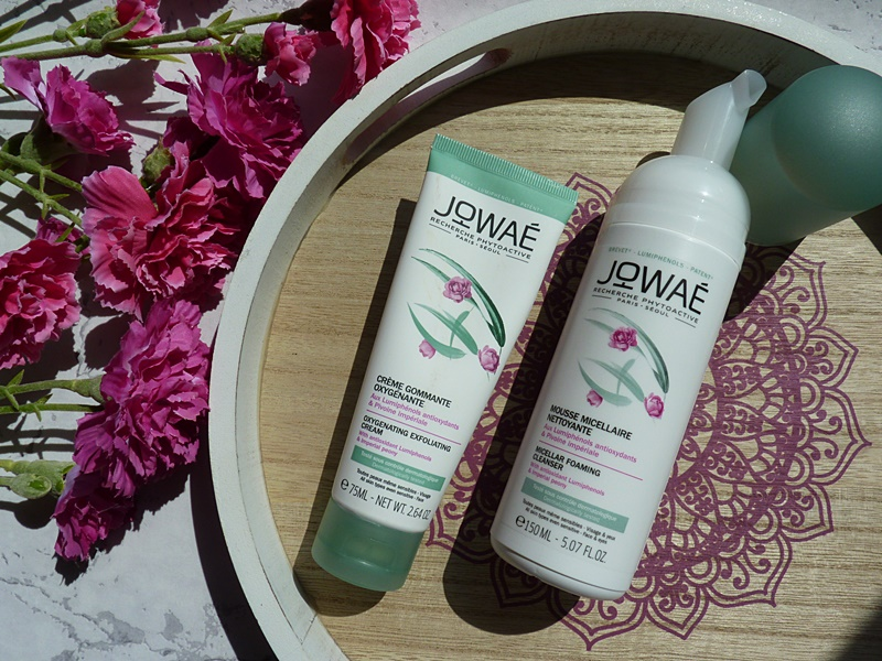 Jowae Micellar Foaming Cleanser i Oxygenating Exfolianting Cream