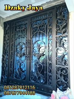 Pintu Pagar Klasik Modern