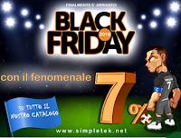 Logo Simpletek Black Friday : sconto su tutti i prodotti (Informatica,telefonia,stampanti)