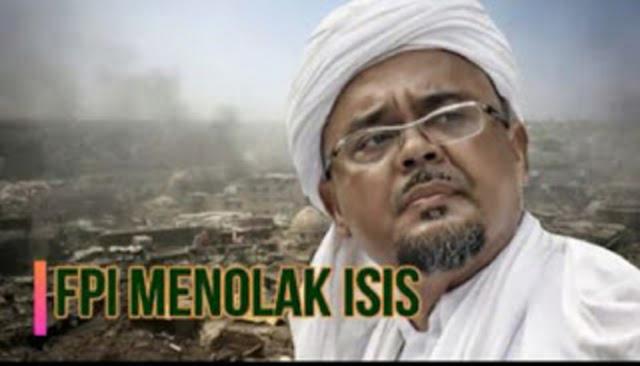 Beredar Video Habib Rizieq Menolak ISIS, Larang Laskar FPI Ikutan Perang ke Irak