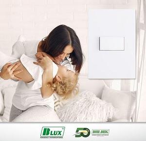 O SHD Brasil conta com o Apoio da B.Lux Tomadas e Interruptores