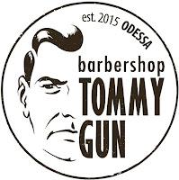 Логотип Tommy Gun Барбершоп Одесса