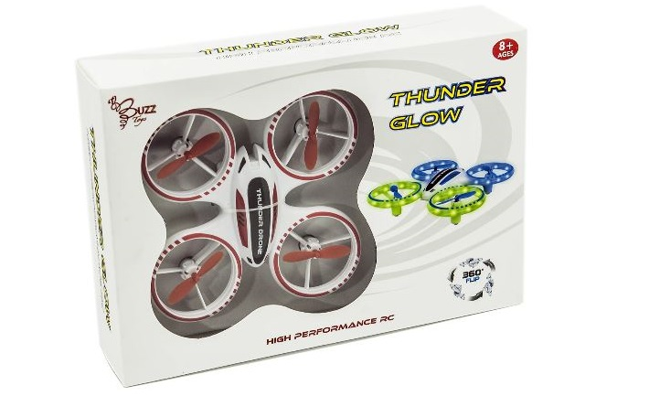 Win the Thunder Glow Drone from Buzz Retail