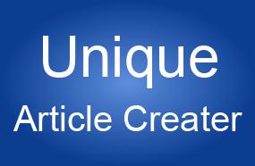 Unique Article Creater