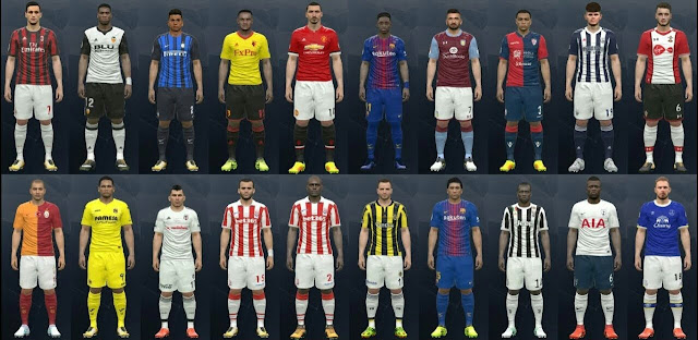 PES 2016 New Option File 17-2018 For PTE Patch