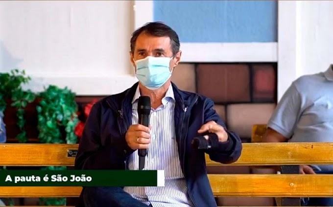 Romero anuncia cancelamento d'O Maior São João do Mundo Da Redação.
