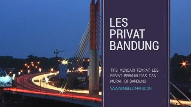 Les Privat Bandung Murah