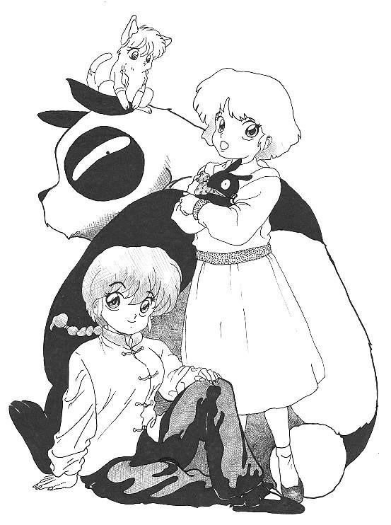 Imgenes para colorear de Ranma - Ranma Nibun-no-Ichi (12 ...