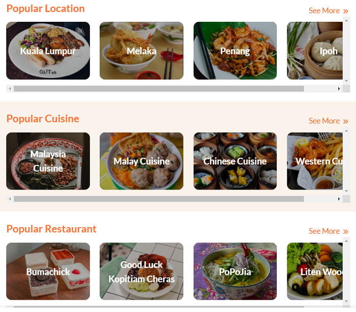 Order Food With VTapau To Save Local Business (NO Commission Charge)