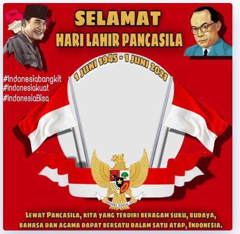 Twibbon Hari Pancasila