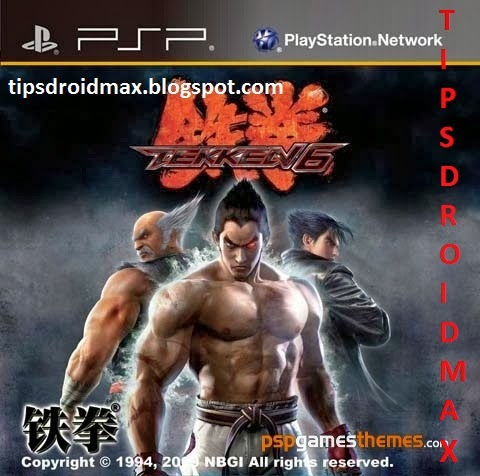 Download Tekken 6 PSP