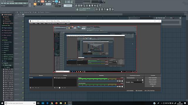 FL Studio 12, Consejos y Trucos - Cómo configurar el programa OBS para grabar el vídeo y el audio de tu pantalla