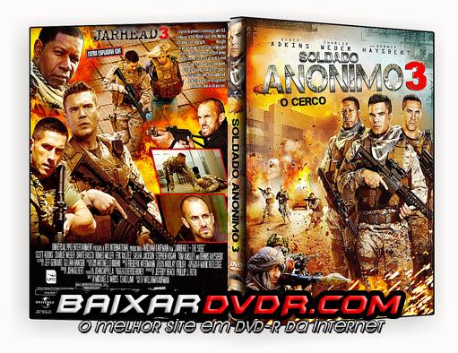SOLDADO ANÔNIMO 3 (2016) DUAL AUDIO DVD-R CUSTOM