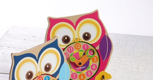 My Owl Barn Sprout Eco Friendly Clock Amp Watch Set