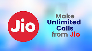 Make Unlimited Calls from Jio