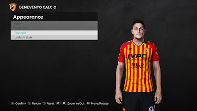 PES 2021 Faces Federico Barba by Unknown Facemaker