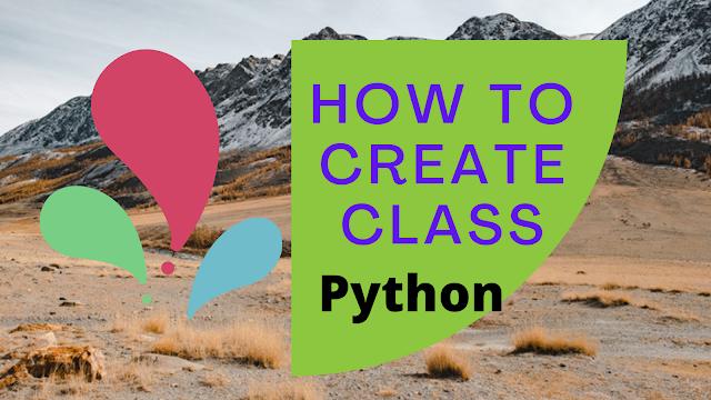 Sample logic to create class